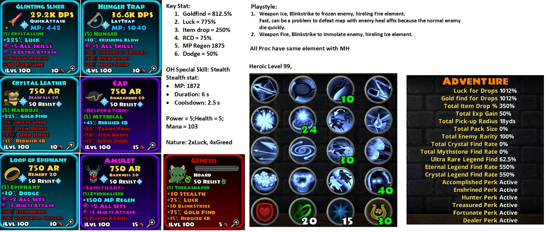 Universal Rogue Build Pve Patch 3 1 2 Guides Dungeon Quest Forums